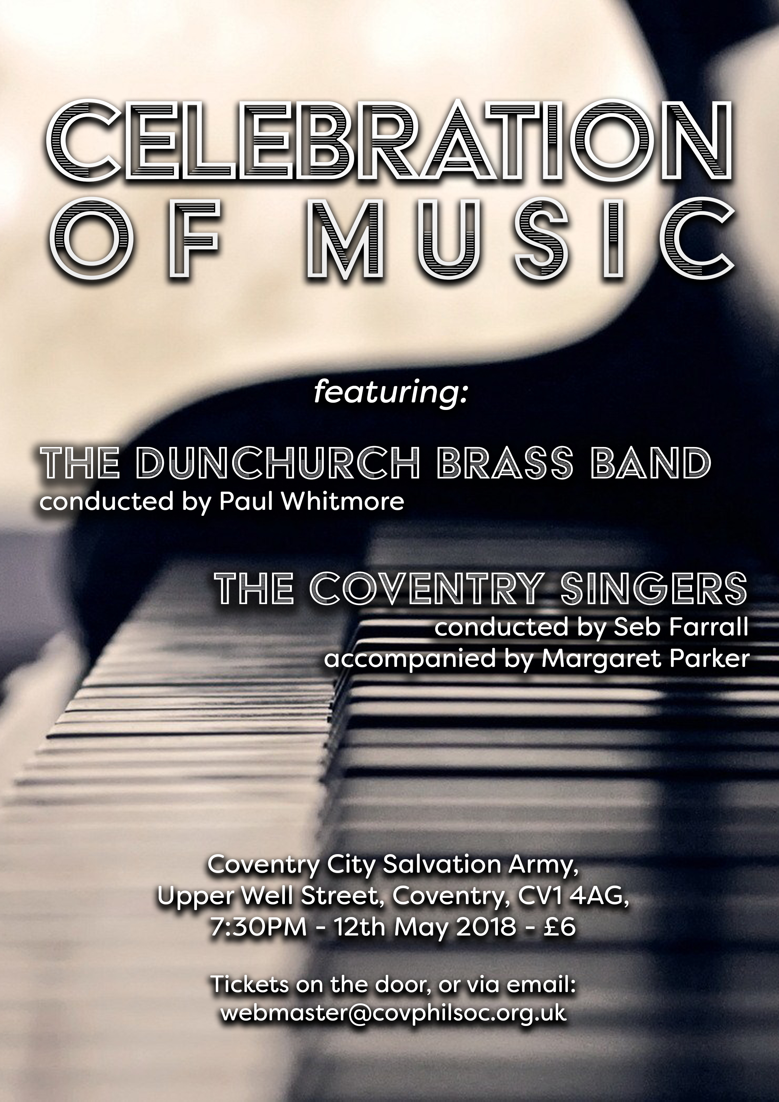Celebration of Music with Coventry Singers & Dunchurch Brass Band